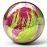 DV8 Misfit Bowling Ball- Yellow/Magenta