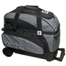 Brunswick Speed Double Roller Bowling Bag- Black/Gray