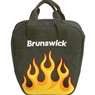 Dyno Single Orange Flame Bowling Bag
