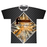 Hammer Bowling Dye-Sublimated Jersey- Cracked Glass