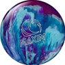Ebonite Maxim PRE-DRILLED Bowling Ball- Purple/Royal/Silver