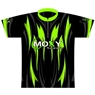 Moxy Dye-Sublimated Jersey- Green/Black