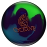 Ebonite Cyclone Bowling Ball- Purple/Teal/Lime