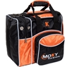 Moxy Deluxe Single Bowling Bag- Orange/Black