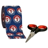 Turbo Grips Rock Tape Roll- Texas Rangers