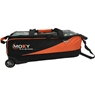 Moxy Slim Triple Roller Bowling Bag- Orange/Black