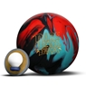 Roto Grip Dare Devil Trick Bowling Ball- Black/Teal/Red