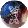 Ebonite Cyclone Bowling Ball- Strike for Vets