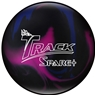Track Spare Plus Bowling Ball- Purple/Blue/Black