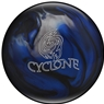 Ebonite Cyclone Bowling Ball- Black/Blue/Silver