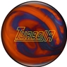 Ebonite Turbo/R Bowling Ball- Orange/Blue Pearl