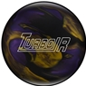 Ebonite Turbo/R Bowling Ball- Black/Purple/Gold