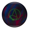 Ebonite Affinity Bowling Ball- Silver/Violet/Blue
