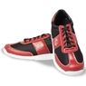 Linds Unisex Hawk Rental Bowling Shoes Red/Black- Laces