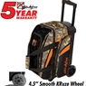KR Cruiser Smooth Double Roller Bowling Bag- Camo