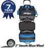 KR Royal Flush 6 Ball Bowling Bag- Royal/Black