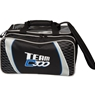 Team Columbia 300 Double Ball Bowling Tote Bag- Black/Silver