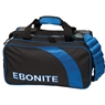 Ebonite Conquest 2 Deluxe Tote Bowling Bag- Black/Royal