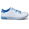 KR Strikeforce Womens Gem Bowling Shoes- White/Blue Wide