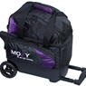 Moxy Single Deluxe Roller Bowling Bag- Purple