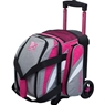 KR Cruiser Single Roller Bowling Bag- Stone/Pink