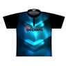 900 Global Dye-Sublimated Jersey-Blue/Black/White