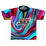 Columbia 300 Dye-Sublimated Jersey - Blue/Magenta/Black