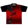 DV8 Dye-Sublimated Jersey -Red/Black