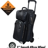 Hammer Force Triple Roller Bowling Bag- Black