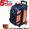 Denver Broncos Double Roller Bowling Bag