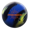 Track Precision Solid Bowling Ball- Blue/Yellow/Black