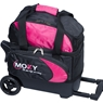 Moxy Candlepin Deluxe Roller Bowling Bag- Pink/Black