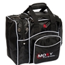 Moxy Candlepin Deluxe Tote Bowling Bag- Black
