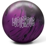 Radical Ludicrous Solid Bowling Ball- Black/Purple