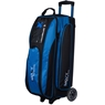 Moxy Blade Triple Roller Bowling Bag- Electric Blue/Black