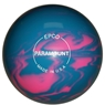 "Candlepin Paramount Marbleized Bowling Ball 4.5""- Light Blue/Pink"
