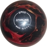 "Candlepin Starline Bowling Ball 4.5""- Wine/Bronze/Black Pearl"