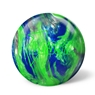 900 Global Boost PRE-DRILLED Bowling Ball- Green/Silver/Blue Pearl