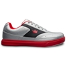 Brunswick Mens Renegade Bowling Shoes- Flash Silver/Red