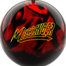 Columbia 300 Messenger PRE-DRILLED Bowling Ball - Red/Black