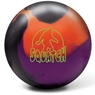 Radical Squatch Solid Bowling Ball- Black/Orange/Purple