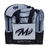 Motiv Shock Single Deluxe Tote Bowling Bag - Silver