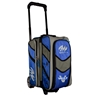 Motiv Vault 2 Ball Roller Bowling Bag- Blue