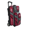 Motiv Vault 3 Ball Roller Bowling Bag- Red