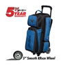 KR Krush 3 Ball Roller Deluxe Bowling Bag- Blue/Black