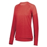 Augusta Ladies Zoe Tonal Heather Pullover