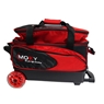 Moxy Blade Premium Double Roller Bowling Bag- Red