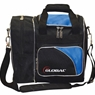 900 Global Deluxe Single Bowling Bag- Blue/Black