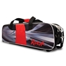 Radical Triple Tote Bowling Bag Dye-Sublimated (No Shoes) - Black/Red