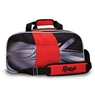 Radical Double Tote Bowling Bag w/ Pouch Dye-Sublimated- Black/Red